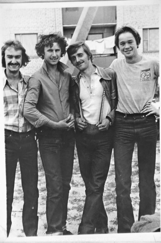 Вокально-инструментальный ансамбль Правдинска. Состав 80-х годов.