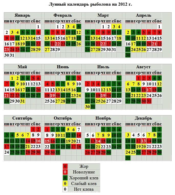 прогноз клева толстолобика на июнь