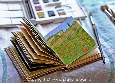 Скетчбук в своем первоначальном виде. Как сделать скетчбук, артбук, скрапбук, дневник путешествия