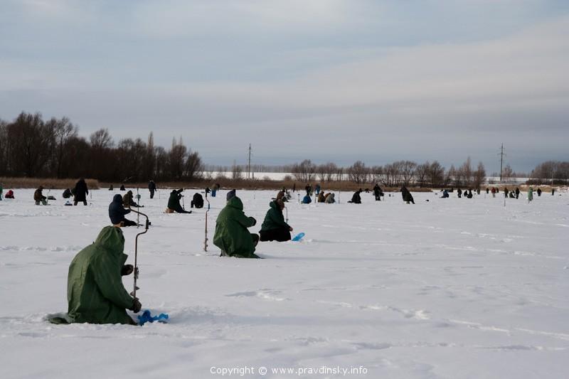 Зимняя рыбалка. Соревнования по рыбной ловле со льда 2011