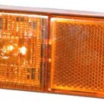 Фонарь боковой габаритный со светоотражающим устройством и светодиодами
