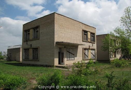 Старый корпус детского сада до реконструкции.
