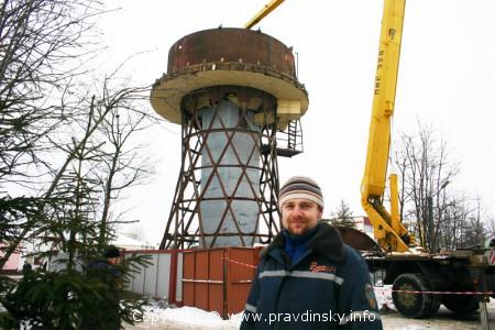 Что будет в Марьиной Горке на месте Шуховской башни!?