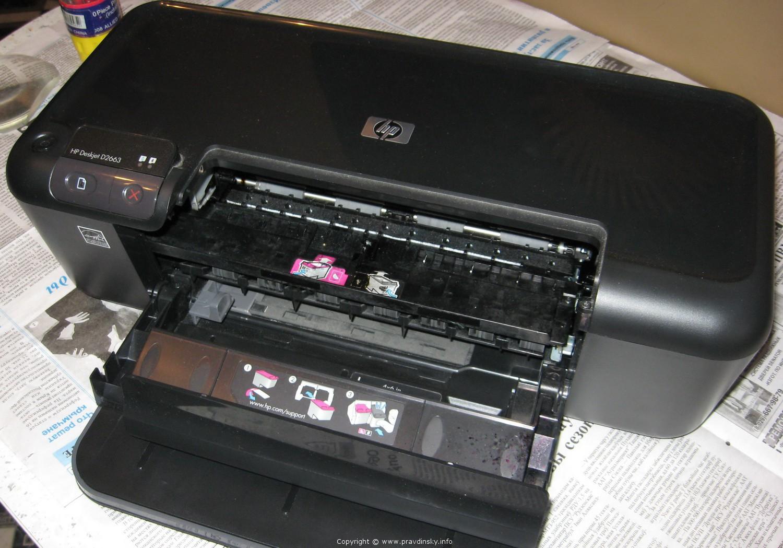 Струйные принтеры ремонт своими руками