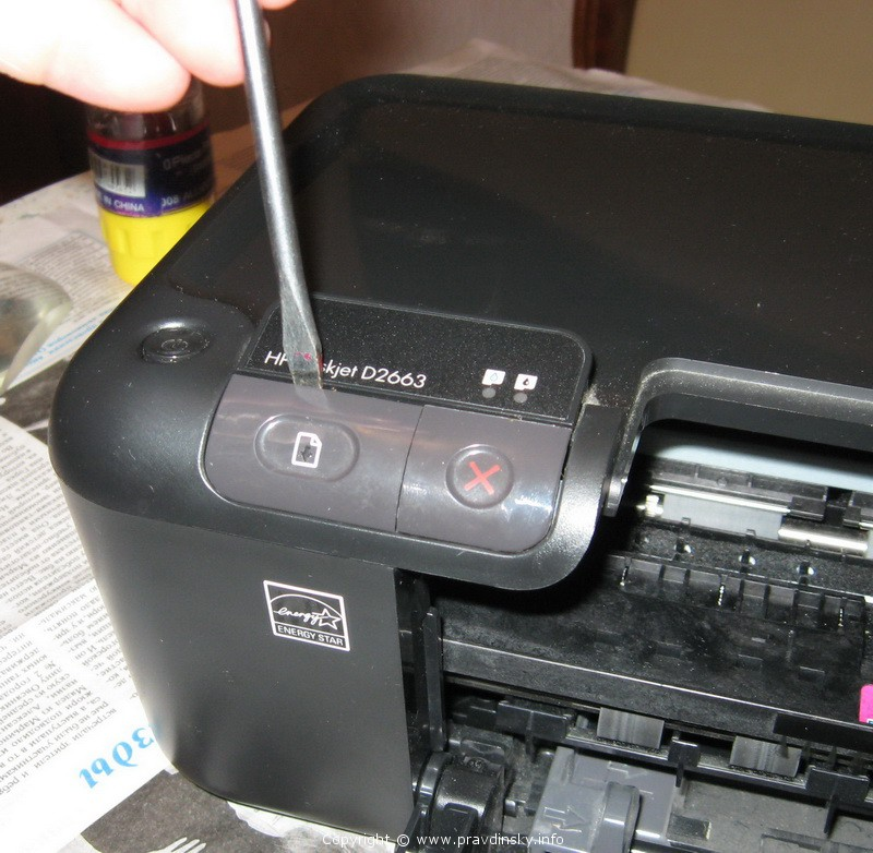Принтер струйный своими руками 891