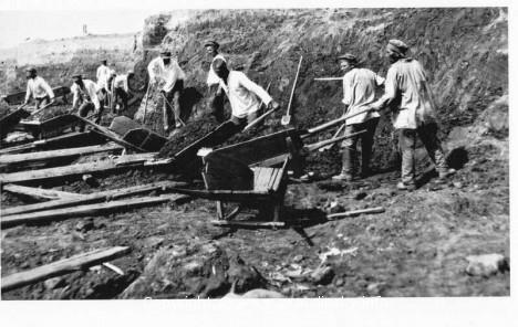 масштаб выполненых работ по строительству канала «Цитовка»
